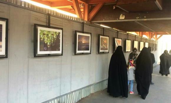 اکران آثار نمایشگاه ملی عکس قاب فیروزهای در نگار گذر خیابان صفائیه