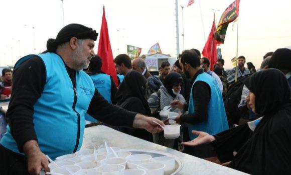 بیش از 19 هزار زائر حسینی در موکب جمکران با حلیم پذیرایی شدند