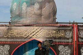 پوشش زنده مراسم اربعین توسط شبکه ولایت در موکب مسجد مقدس جمکران