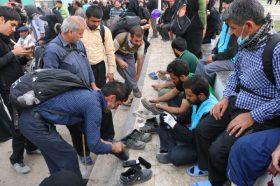 خاک پای زائران حسینی توتیای چشم خادمان مسجد مقدس جمکران