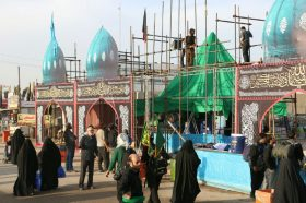 احداث ماکت مسجد مقدس جمکران در موکب اربعین