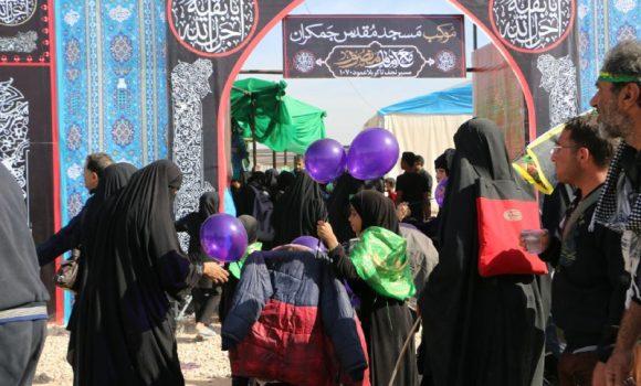 موکب کودکانه مسجد مقدس جمکران در عمود 1070