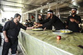 پذیرایی از زائران در موکب جمکران با بیش از ۸۰ هزار لیوان عرقیات گیاهی