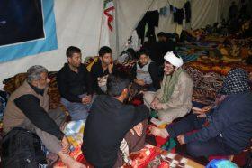 برگزاری روزانه ۴۰ حلقه معرفت در موکب مسجد جمکران