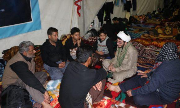 برگزاری روزانه 40 حلقه معرفت در موکب مسجد جمکران