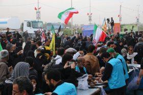 پذیرایی از ۶ هزار زائر اربعین حسینی با حلیم
