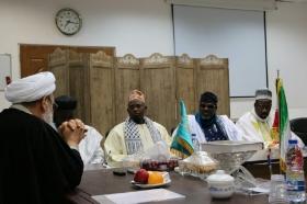 دیدار هیئت عالی رتبه تیجانی از سنگال با تولیت مسجد مقدس جمکران