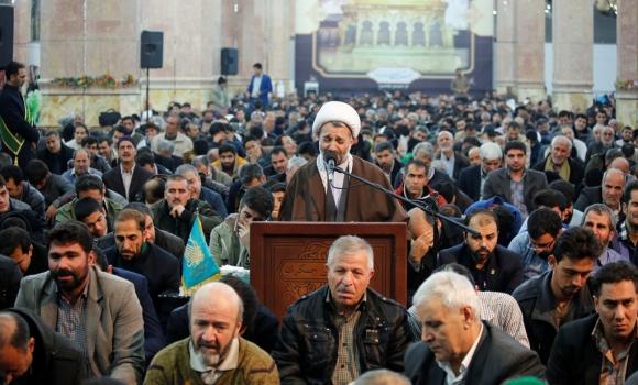 مراسم دعای توسل مسجدمقدس جمکران