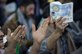 مراسم دعای ندبه مسجدمقدس جمکران