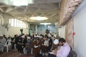 برگزاری کارگاه پاسخگويي به شبهات روز برای روحانیون در حرم مطهر