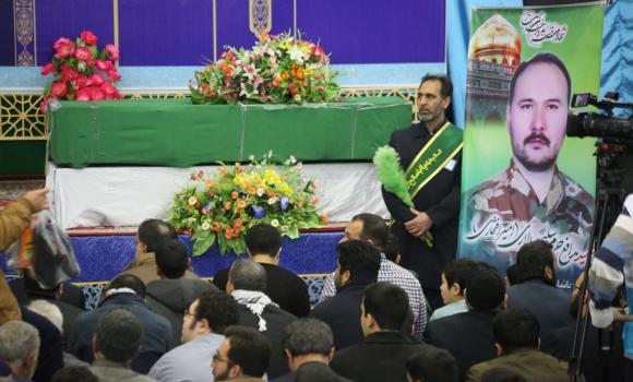 یادواره شهید مدافع حرم سلیم سالاری در مسجد مقدس جمکران