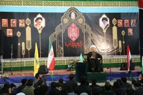 مراسم شب اول عزاداری فاطمیه در مسجد مقدس جمکران
