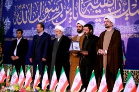 مراسم بزرگداشت شهدای آتشنشان در مسجد مقدس جمکران برگزار شد