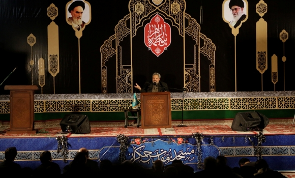 مراسم قرائت دعای توسل مسجد مقدس جمکران