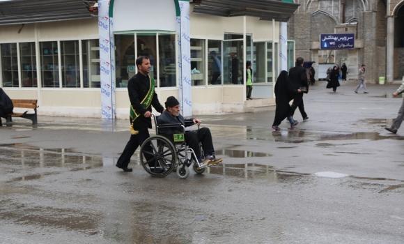 بارش باران رحمت الهی در سومین روز از سال جدید