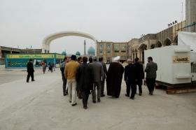 بازدید میدانی تولیت و مدیران مسجد مقدس جمکران در آستانه نوروز