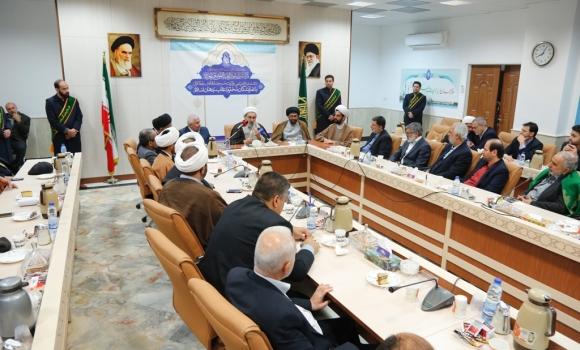 نشست صمیمی نمایندگان اعتاب جهان اسلام با تولیت مسجد مقدس جمکران برگزار شد