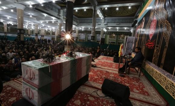 مراسم دعای توسل مسجد مقدس جمکران در ایام فاطمیه