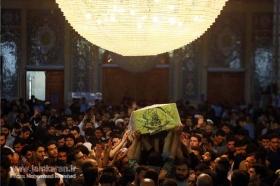 مراسم ام داوود و تشییع پیکر شهید مدافع حرم