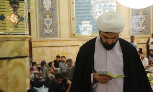 مراسم دعای توسل معتکفان مسجد مقدس جمکران