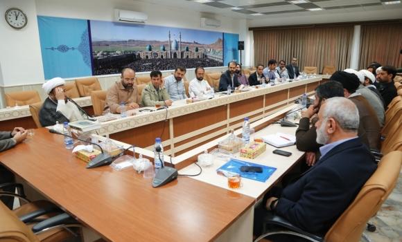 نشست مشترک معاونین و مدیران صداسیمای قم و مسجد مقدس جمکران برگزار شد