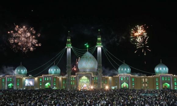 جشن های عید غدیر در مسجد مقدس جمکران