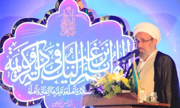 تجلیل از مقام شیخ زکزاکی در شب نیمه شعبان