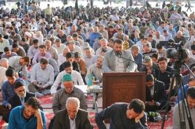 ندبه انتظار در مسجد مقدس جمکران