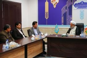 نشست مسئولان کمیته امداد امام خمینی با تولیت مسجد مقدس جمکران