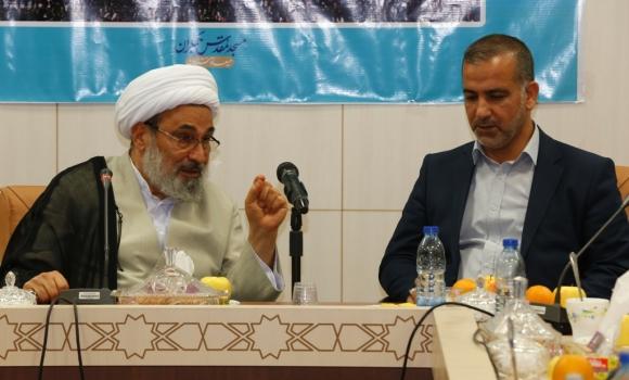 جلسه مشترک تولیت های مسجد کوفه و مسجد مقدس جمکران