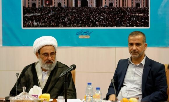 امضای تفاهم نامه همکاری بین تولیت های مسجد کوفه و مسجد مقدس جمکران