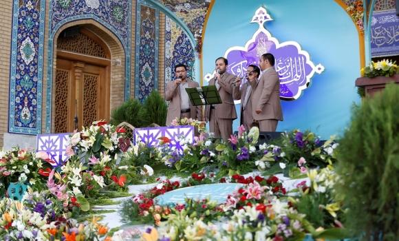 برگزاری محفل انس با قرآن کریم به مناسبت تحویل سال نو