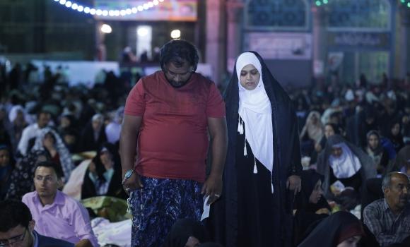 میزبانی مسجد مقدس جمکران از زائران خارجی در جشن سفیران آفتاب