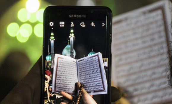 عکس های عکاسان گروه «قم چیلیک» از مراسم احیا در مسجد مقدس جمکران
