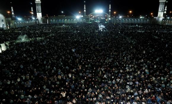 مراسم احیای شب نوزدهم در مسجد مقدس جمکران