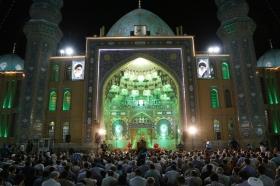 مراسم دعای توسل در شام میلاد حضرت معصومه(سلام الله علیها)