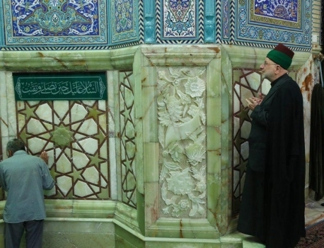 تشرف توليت اجرایی حرم امام حسين(عليه السلام) به مسجد مقدس جمكران