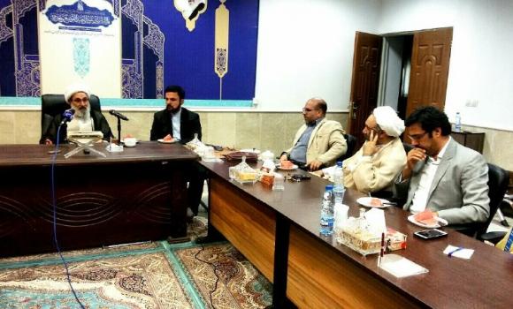 دیدار رئیس شورای معارف سیما با تولیت مسجد مقدس جمکران