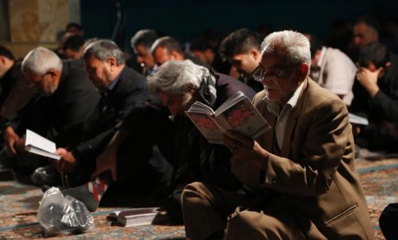 مراسم دعای کمیل در شب شهادت امام حسن مجتبی(علیه السلام)