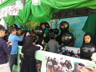 گل نرگس مسجد مقدس جمکران در اربعین حسینی