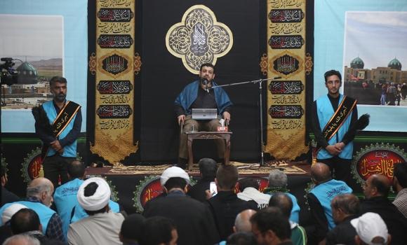 فعالیت های موسسه مصاف در موکب مسجد مقدس جمکران