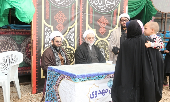 محوریت مسائل فرهنگی در موکب مسجد مقدس جمکران/ توجه ویژه به کودکان در موکب جمکران