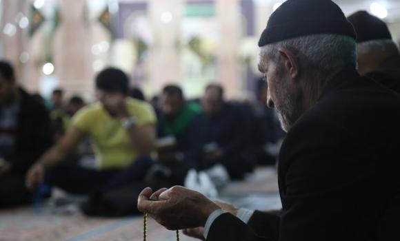 مراسم دعای کمیل در شب رحلت حضرت معصومه(سلام الله علیها)