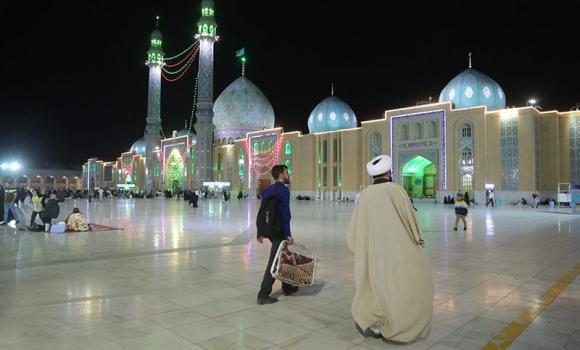 آغاز مراسم اعتکاف در مسجد مقدس جمکران