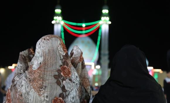لیله الرغائب در مسجد مقدس جمکران