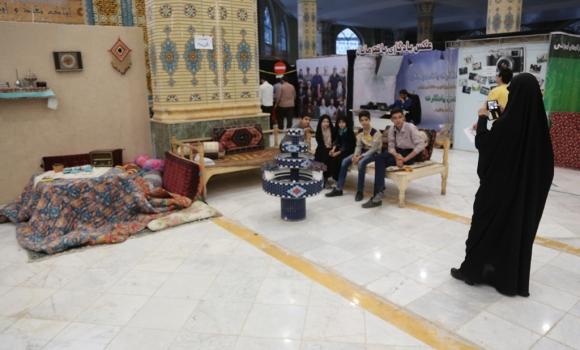 اجرای دکور سنتی و مدرن تحت عنوان «چی بودیم و چی شدیم» در نمایشگاه ربیع الانام