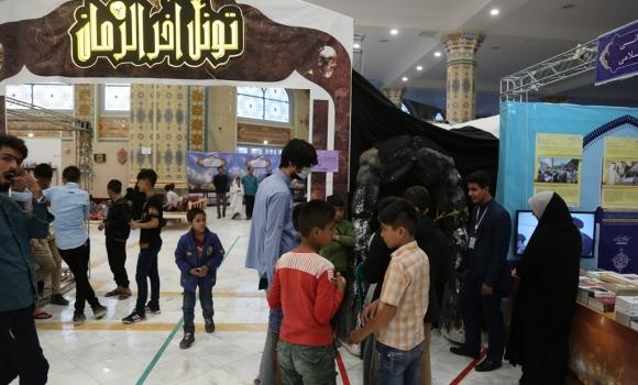 راه اندازی «تونل وحشت» با مباحث آخرالزمانی در نمایشگاه ربیع الانام