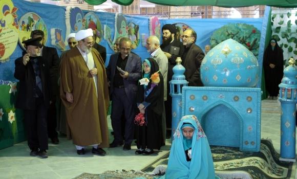 افتتاحیه نمایشگاه بزرگ ربیع الانام با حضور تولیت مسجد مقدس جمکران