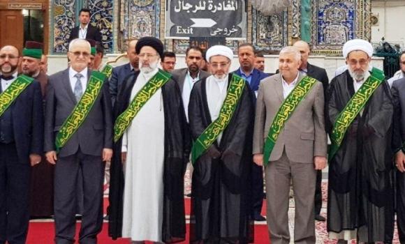 حضور تولیت مسجد مقدس جمکران در اجلاسیه تولیتهای اعتاب مقدس جهان اسلام
