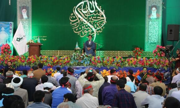 برگزاری جشن دهه مهدویت با حضور پنج هزار نفر از استان اصفهان